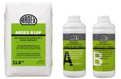 ARDEX R10P - Poliuretano-cemento para medias cañas