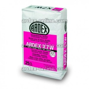 ARDEX X7W - Adhesivo flexible para materiales poco porosos