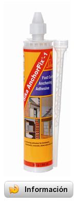 Sika Anchorfix 1 - Resina de poliester para anclajes