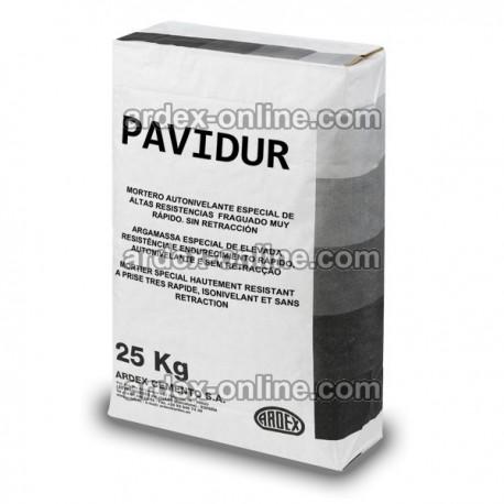 Ardex PAVIDUR - Mortero autonivelante de alta resistencia de fraguado rápido