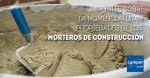 Apuntes sobre la nomenclatura y propiedades de los morteros de construcción