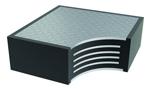Tipo C: Apoyo laminado con placas de acero externas (encastrado o que permite su fijación).