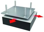 Tipo D: Es un apoyo igual al tipo B pero con lamina de PTFE unida al elastómero.