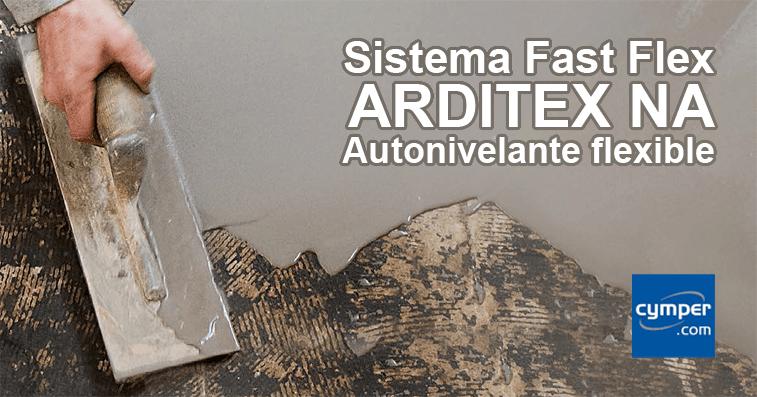 Reparación de pavimento ultra-rápida con autonivelante flexible ARDITEX NA - Sistema Fast Flex