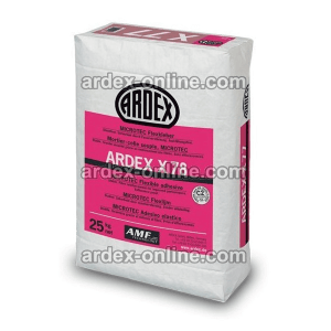 ARDEX X78 - Cemento cola flexible para materiales poco porosos en suelos
