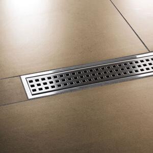 KERDI-LINE-B - Rejilla inoxidable perforada con marco para platos de ducha de obra