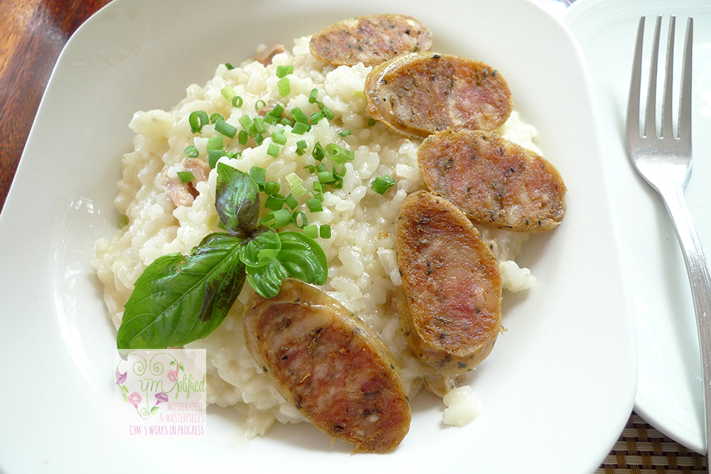 sausagerisotto