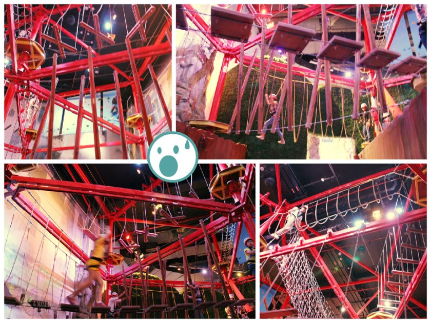 dreamplay hanging obstacle course