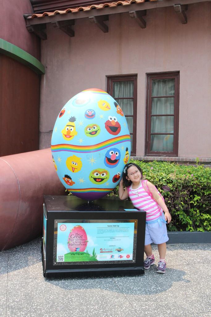 universal studios sesame street egg