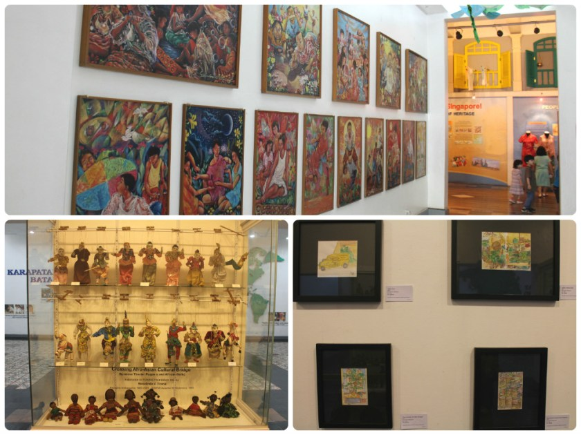 displays in museo pambata