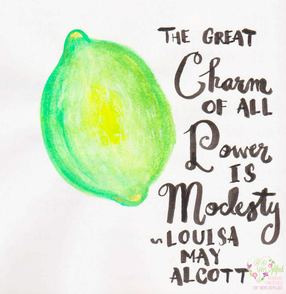 lime and little women quote