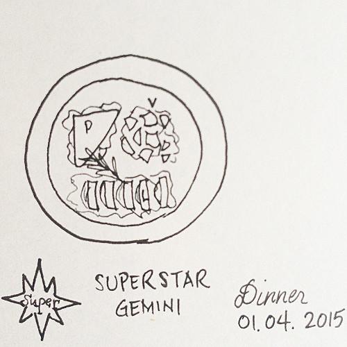first dinner onboard star cruise superstar gemini