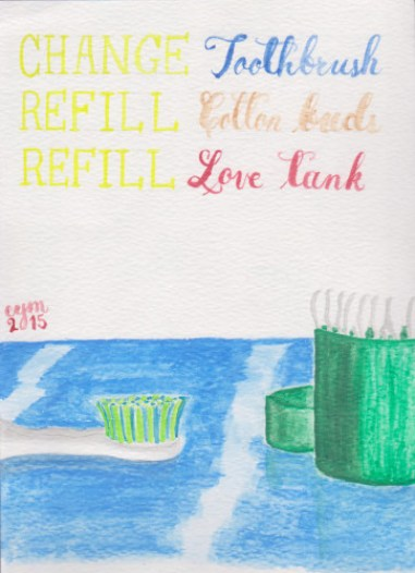 life after happily ever after replenish watercolor
