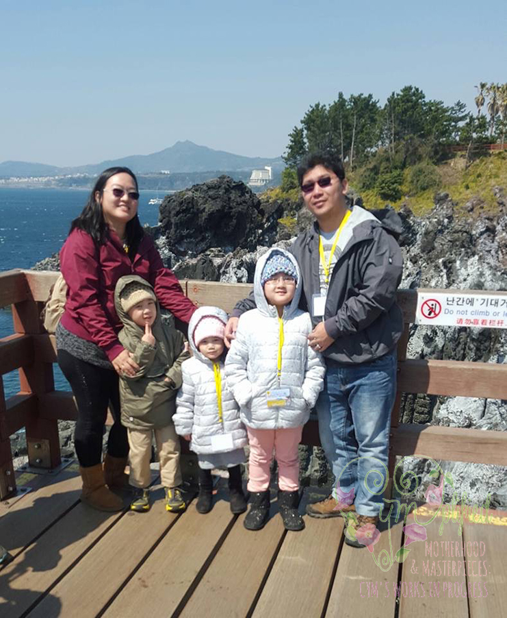 traveling with children 4 to 9 years old to jeju island