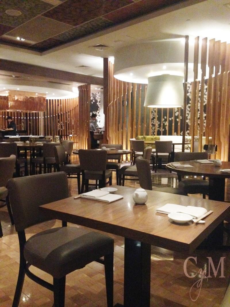 nobu restaurant interior