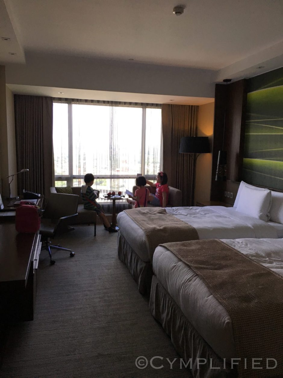 staycation room during inter-May-ssion