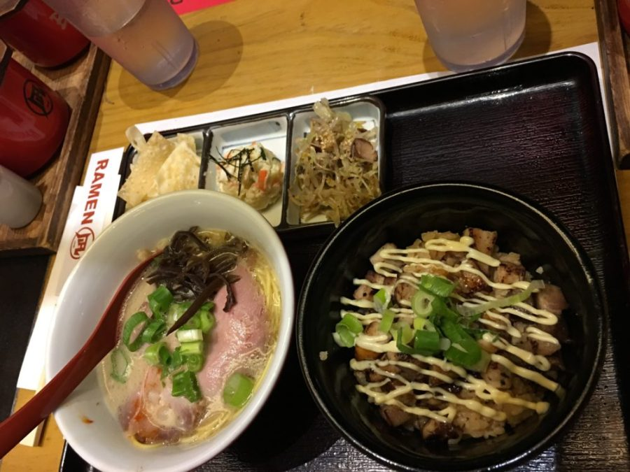 july birthday dinner at ramen nagi