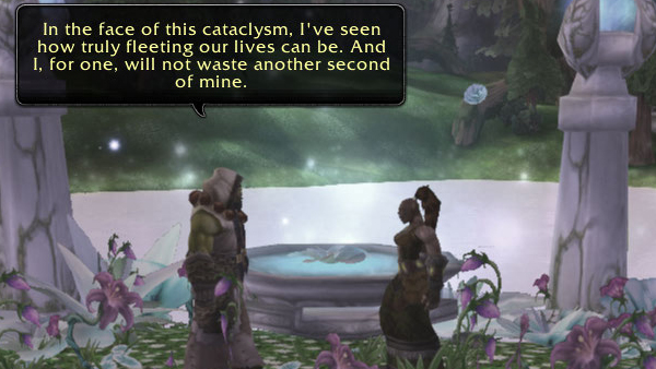 Thrall and Aggra's ceremony - part 1