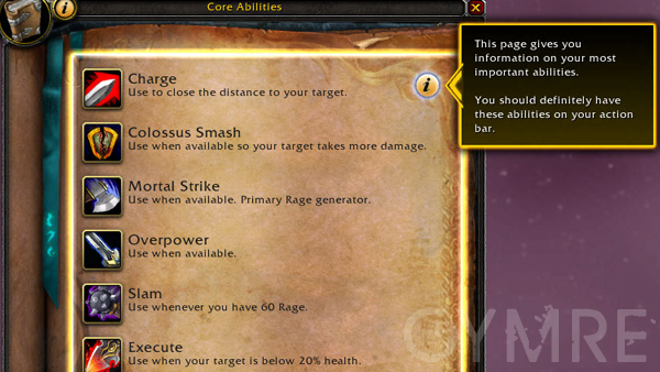 core abilities warr Priest Changes - Build 15640