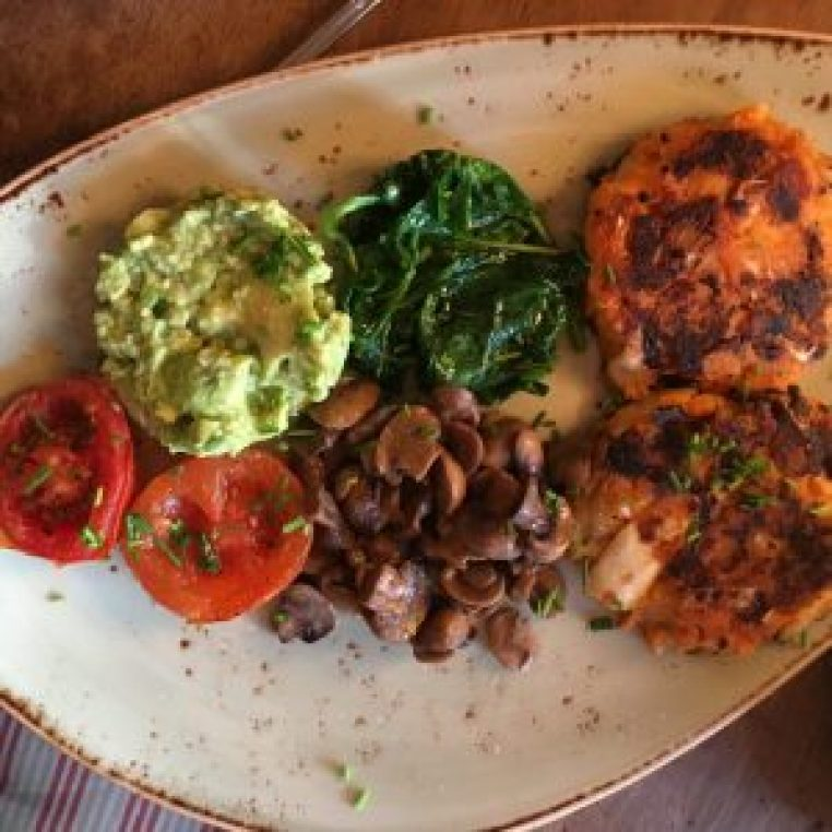 Cafe Fleur Vegan Breakfast Vegan for a Month