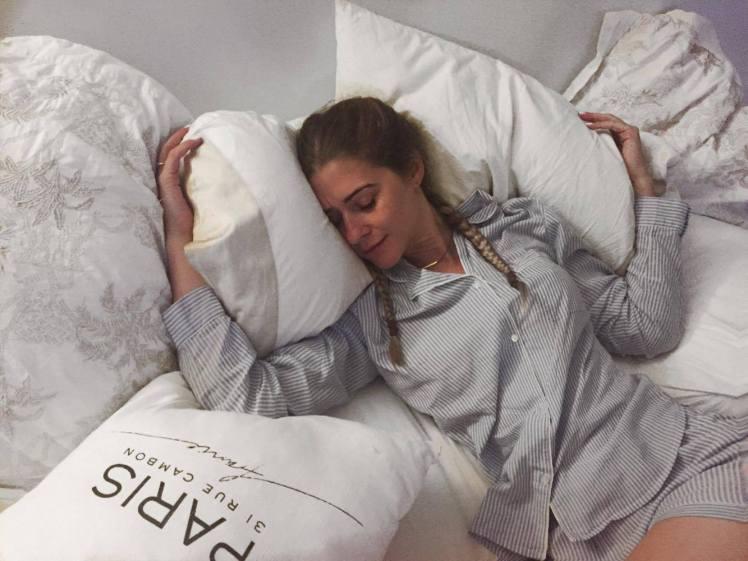 Dealing with anxiety Sleep Cyncity Cyntra anxious