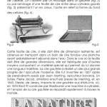 Notice, Nostalgie du futur, Plaques de cire d'abeille gaufrée Dimensions variables 2014