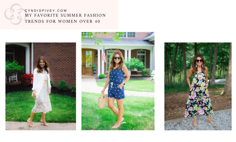 My Favorite Summer Fashion Trends for Women Over 40