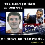 "James Holmes ""didn't get there"" on his own."