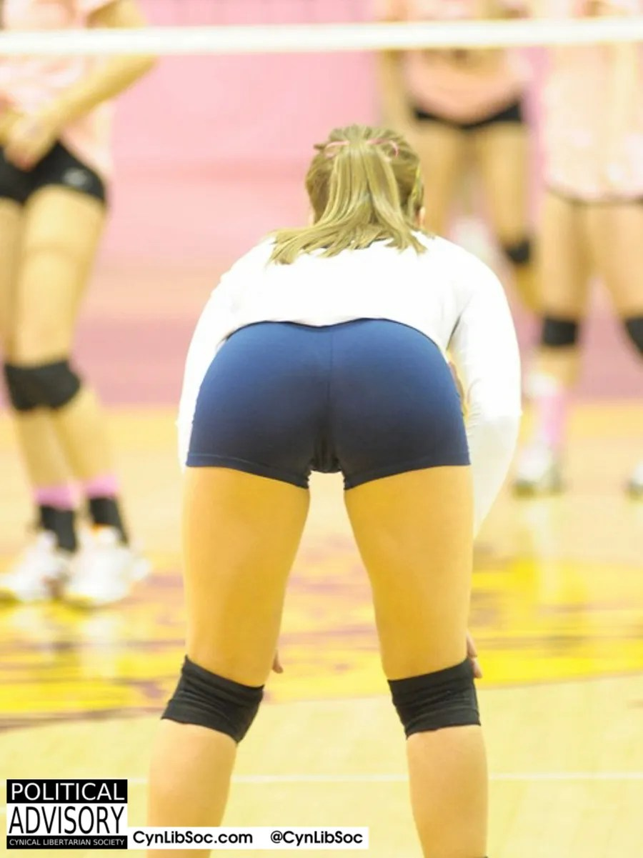 Volleyball girls. Nice butts and smart enough to use Word.