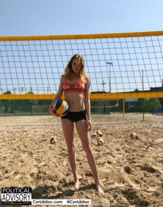 I almost turned gay. Then I remembered volleyball chycks.