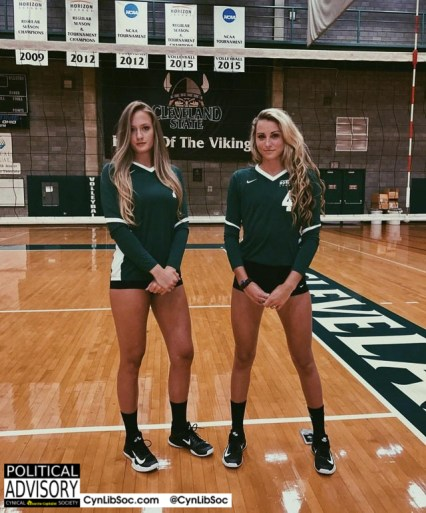 Sometimes volleyball chycks are hawt.