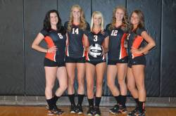 Volleyball girls keep getting better and better.