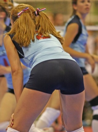 Financial planning? We don't need no financial planning. We got volleyball girls.