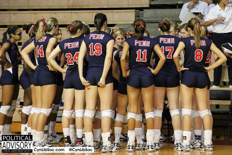 Groupthink is good for volleyball. Groupthink is not good for world views.