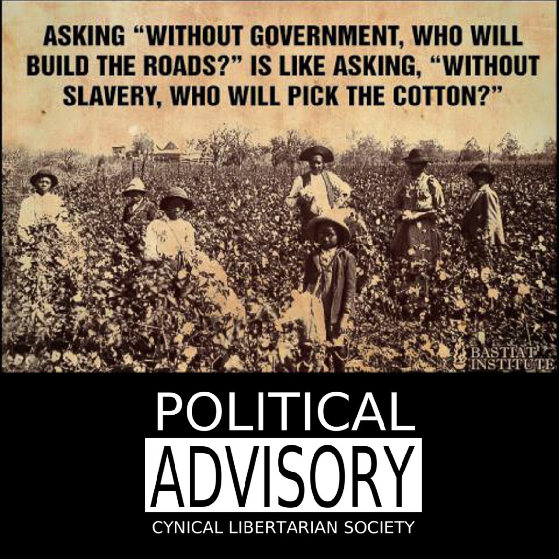 without slavery who will pick the cotton - cls