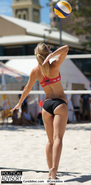 Volleyball chycks. Triggering fat women around the world.