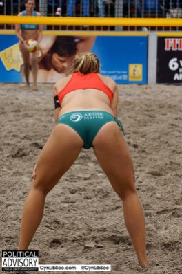 I care about volleyball chycks.