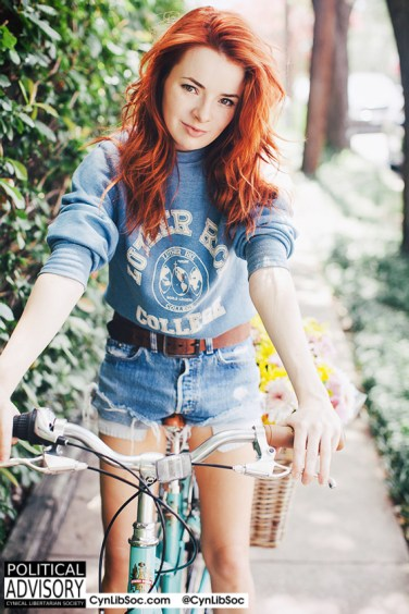 I'd like to be her bicycle.