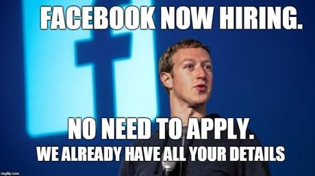 facebook is hring