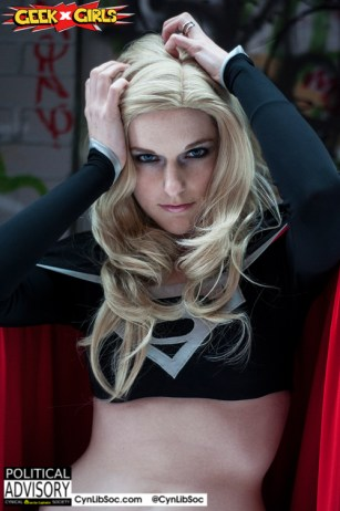 Dark Supergirl will fuck your boyfriend. And you husband, partner, brother, father and son. But will she fuck me?