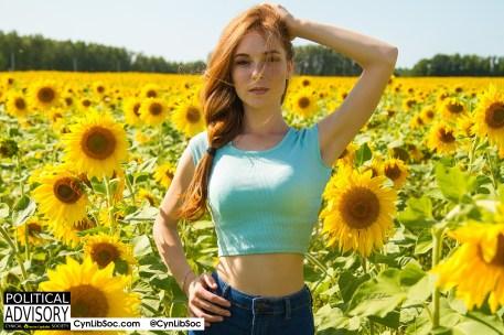Sunny. Very sunny.