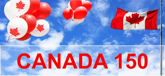 celebrating 150 years of Confederation in Canada