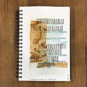 sketch 1/365 - mixed media