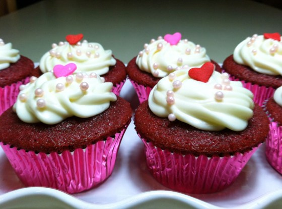 Rose Velvet Cupcake Recipe