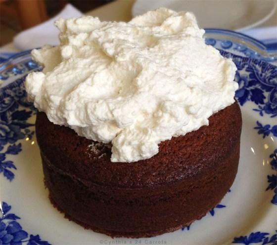 gingerbread mini cakes