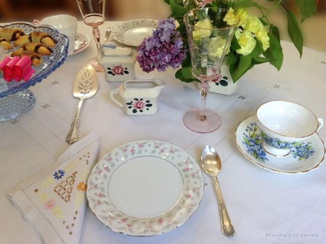 Rosina Bone China Tea Cup and Saucer in Tea Service