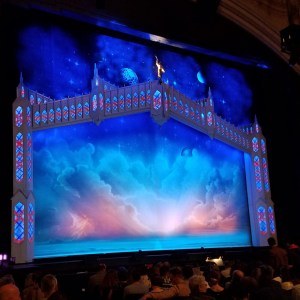 The Book of Mormon opening stage at the Orpheum in San Francisco