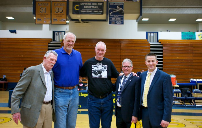 Mark Eaton at 2014 Legends of Hoops Night
