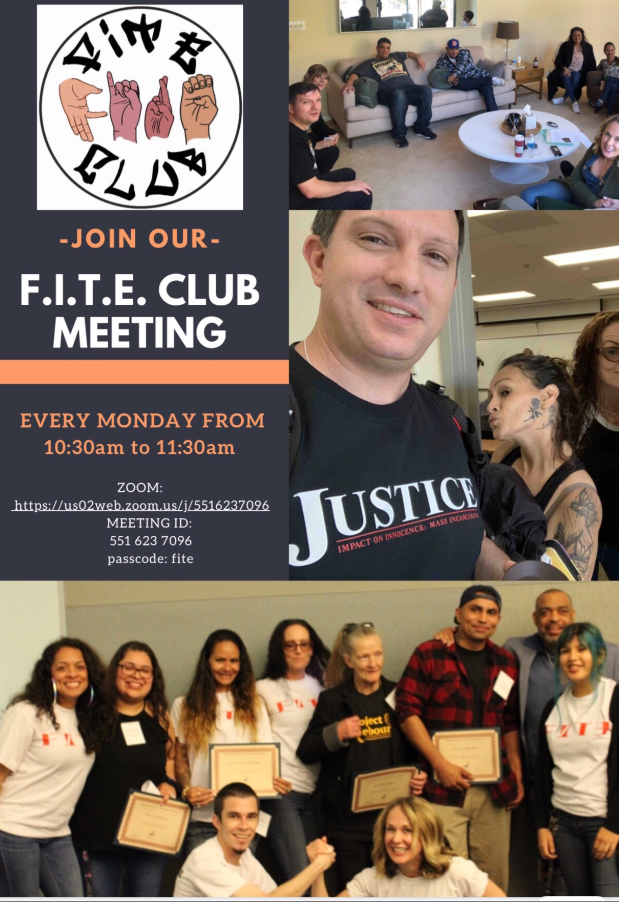 FITE Club flyer