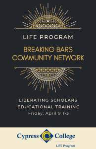 Breaking Bars Flier